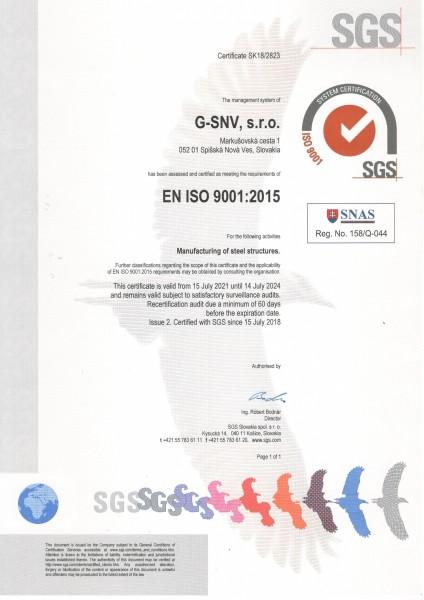 ISO 9001 AN 2021-24